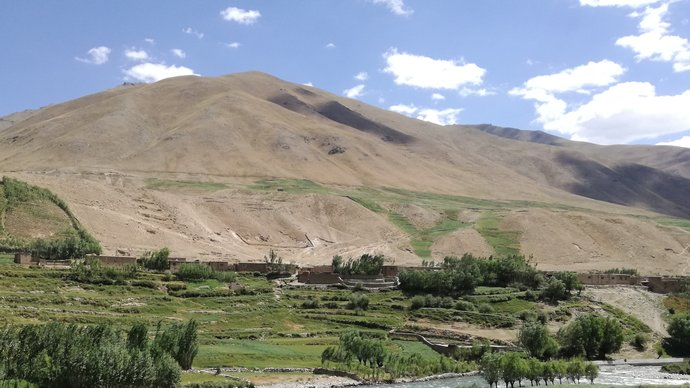 A beautiful place in Malaria endemic region of Afghanistan